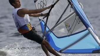 Mateo Sanz Lanz unterwegs in den olymischen Gewässern von Rio