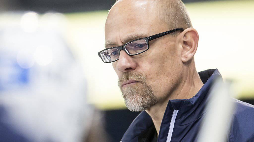 Ambris Trainer Hans Kossmann soll gegen Lausanne nochmals Headcoach wirken
