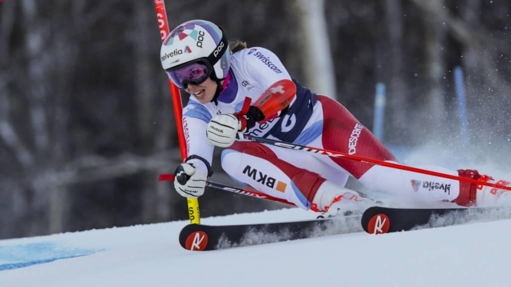 Michelle Gisin starke Vierte - erster Sieg von Marta Bassino