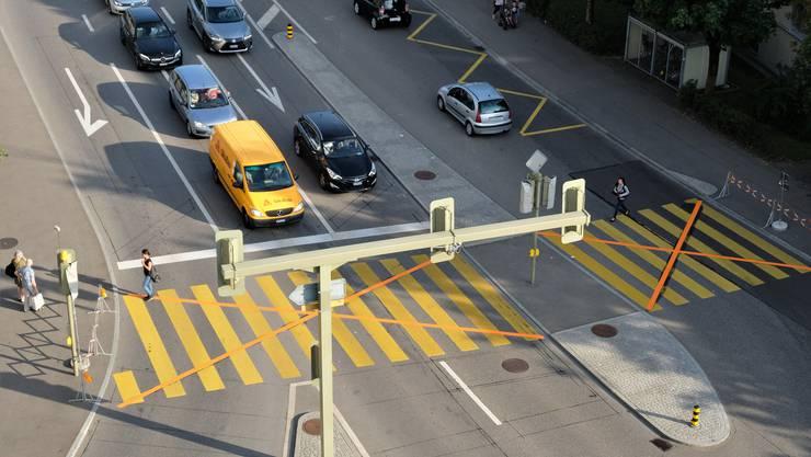 Ab 10. Dezember erwartet die Verkehrsteilnehmer eine Veränderung an der Überlandstrasse. (Archivbild)