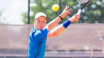 Aargauer Tennisnachwuchs an der FROMM Swiss Junior Trophy in Obernetfelden