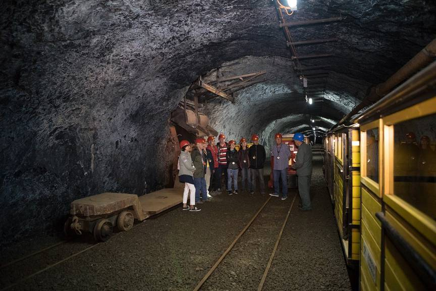 Am Sonntag erhält man einen Einblick in das Eisenbergwerk Gonzen. (Bild: Bergwerk Gonzen)