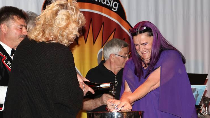 Marianne Burger tauft ihre erste CD