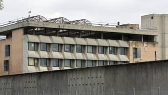 Ein Flügel des Gefängnisses Champ-Dollon