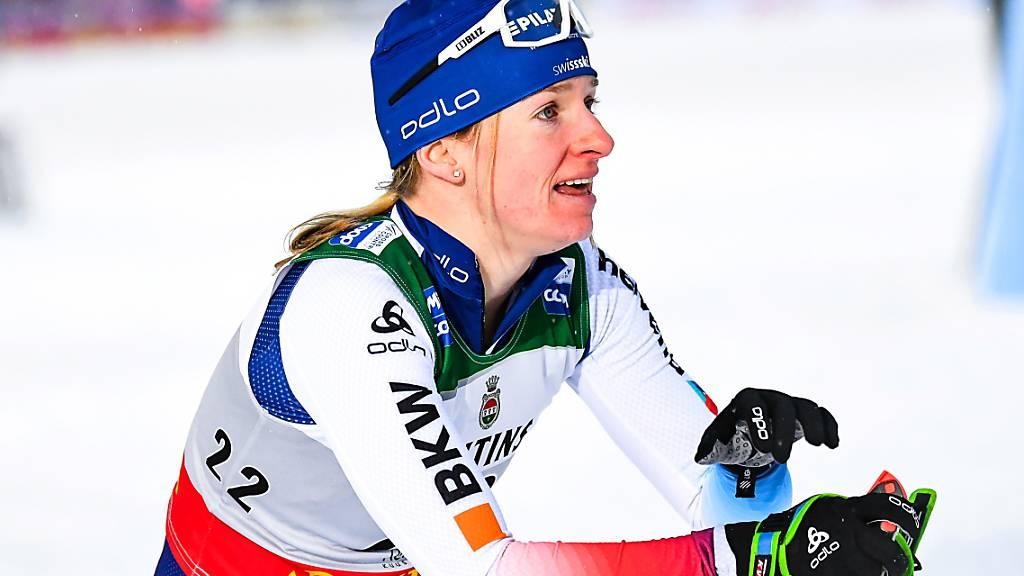 Platz 24 für Nadine Fähndrich im Ruka-Triple