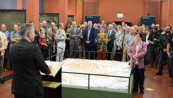 International gefeierter Fund: Römischer Münzschatz aus dem Fricktal lässt sich in Brugg bestaunen