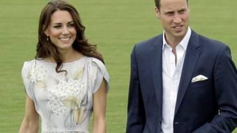 Prinz William und seine Frau Kate (Archiv)