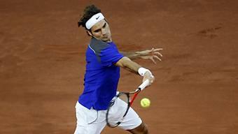 Roger Federer hatte alles im Griff.