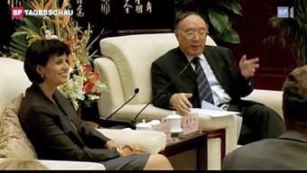 Leuthard in China