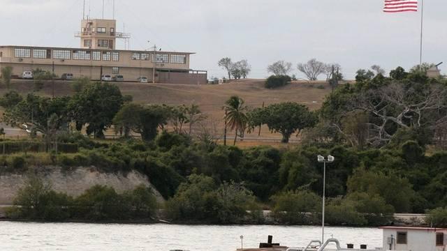 Blick auf das US-Gefängnis in der Bucht von Guantánamo (Archiv)