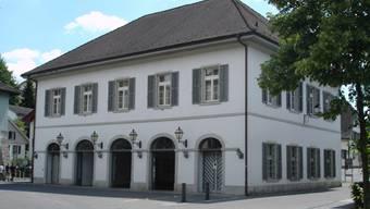 Der Lenzburger Gemeindesaal war bis Mitte des 20. Jahrhunderts politisches und kulturelles Zentrum der Stadt.