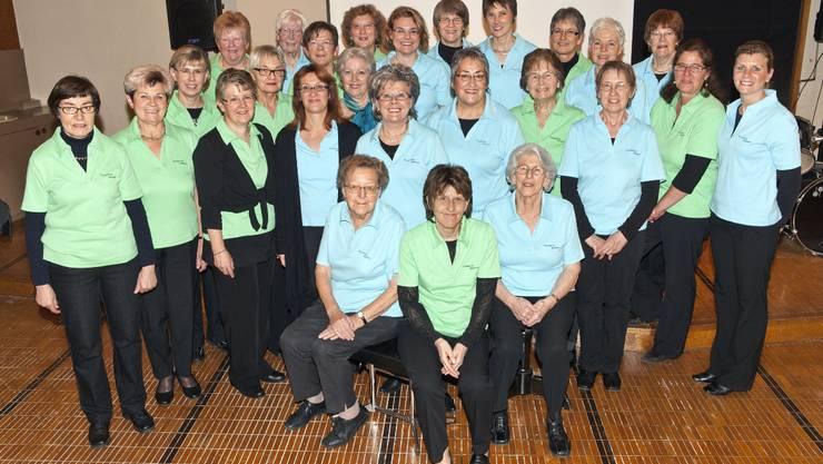 Der Frauenchor Muttenz zählt 28 Mitglieder und probt regelmässig für seine kleineren und grösseren Auftritte  zvg