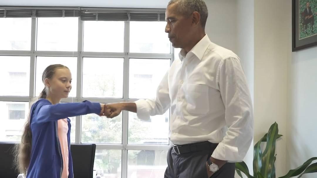 Obama: «Du und ich, wir sind ein Team»