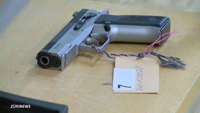 Gewehre und Pump-Actions unter dem Hammer