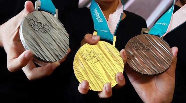 Die Medaillen von Pyeongchang