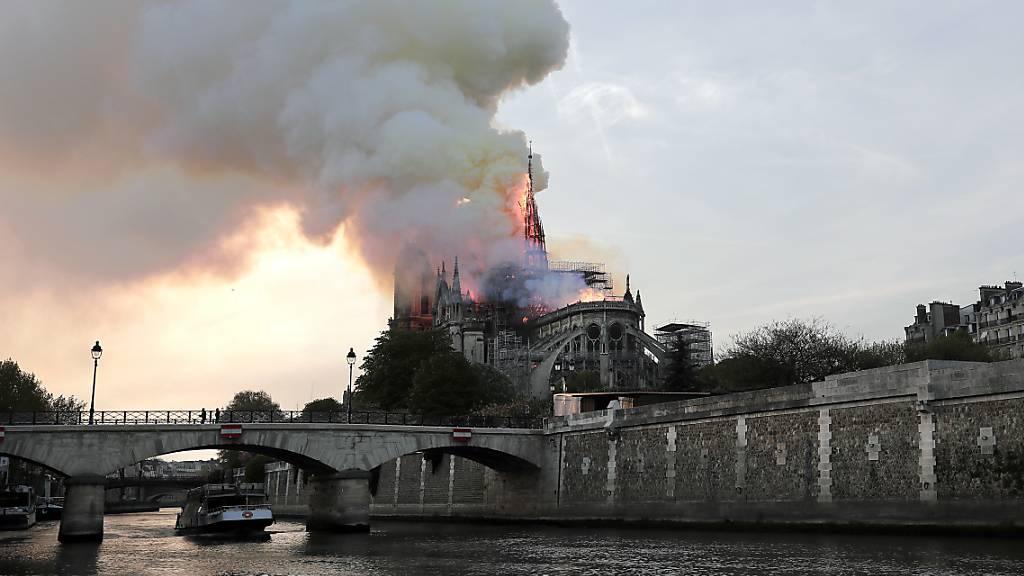TV-Serie über Grossbrand von Kathedrale Notre-Dame geplant
