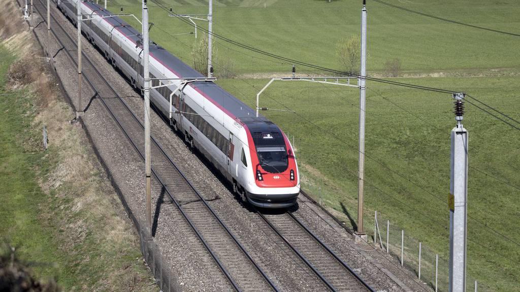 Zwischen Frauenfeld und Weinfelden fallen die Züge aus. (Symbolbild)