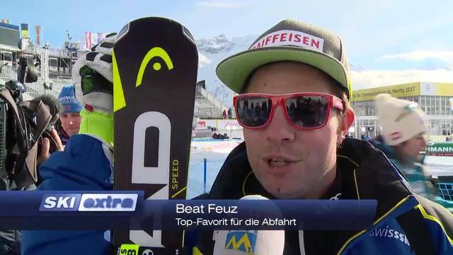 Abfahrer im Training — Aargauer erfindet Grill-Roboter — Wette führte nach St. Moritz