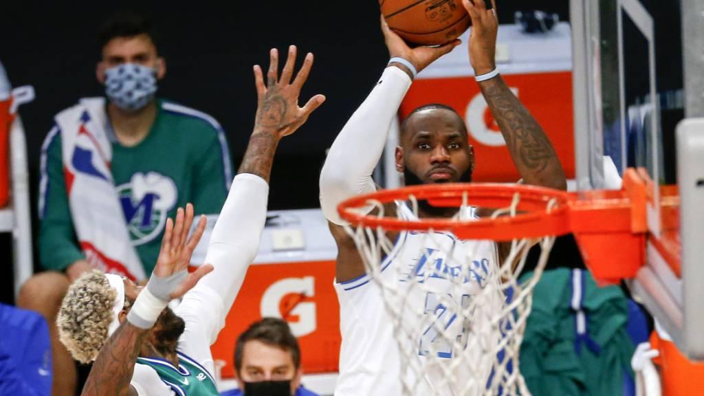 Zurück in Meisterform: LeBron James und die Los Angeles Lakers