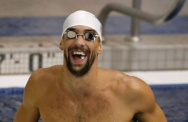 Michael Phelps in glücklicheren Tagen