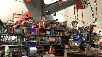 Die Bar von Dieter Roth im Museum Tinguely