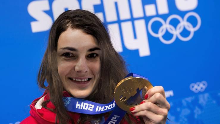 Binia Feltscher möchte in die Haut Dominique Gisins schlüpfen.