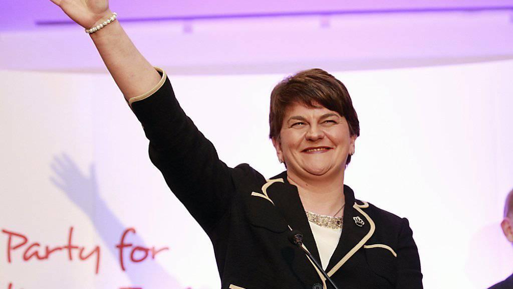 Die neue Chefin der DUP, der pro-britischen Partei Nordirlands: Arlene Forster
