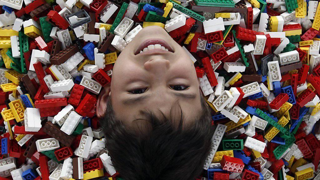 Mit dem Verkauf seiner Spielzeug-Bauklötzchen verdiente Lego im vergangenen Jahr umgerechnet 1,4 Milliarden Franken.