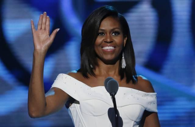 Michelle Obama will keine eingebildeten Töchter (Archiv)