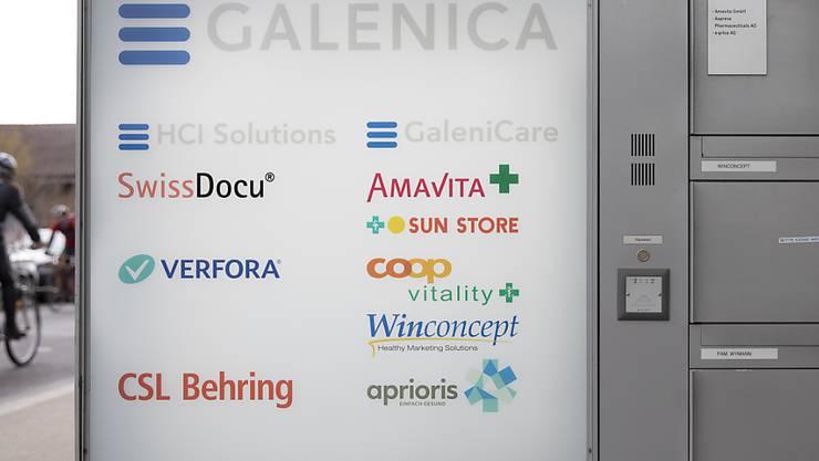 Die Pharmaziegruppe Galenica hat im vegangenen Jahr auch dank dem Ausbau des Apothekennetzes zugelegt. (Archivbild)