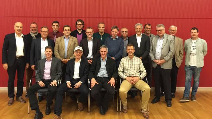 Die Präsidenten und Rektoren der Aargauer Berufsfachschulen gründeten eine Genossenschaft zur Teilung ihrer Schulverwaltungssoftware