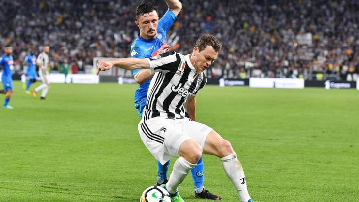Stephan Lichtsteiner wird mit Juventus Turin den siebten Meistertitel in Folge feiern