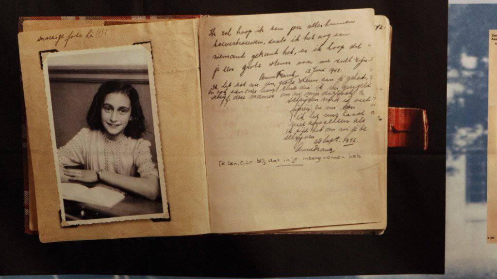 Anne Frank und ihre Familie wurden möglicherweise durch Zufall und nicht durch Verrat entdeckt. (Archiv)