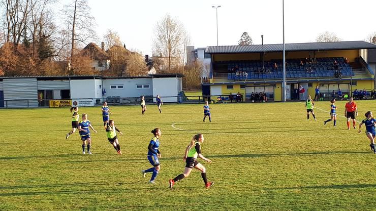 Der SC Derendingen Solothurn verliert zu Hause gegen Aarau mit 0:1.