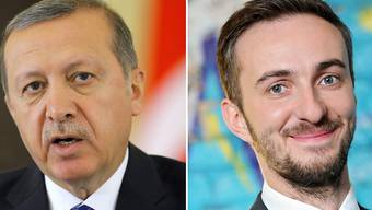 Strafverfolgung wird zugelassen: Der türkische Präsident Erdogan (l) und der deutsche Satiriker Böhmermann