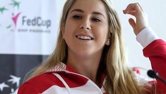 Belinda Bencic bestreitet heute ihre erste Fedcup-Partie vor Heimpublikum