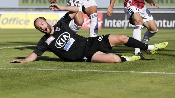 Shkelzen Gashi spielte zum ersten Mal in dieser Saison in der Startelf.