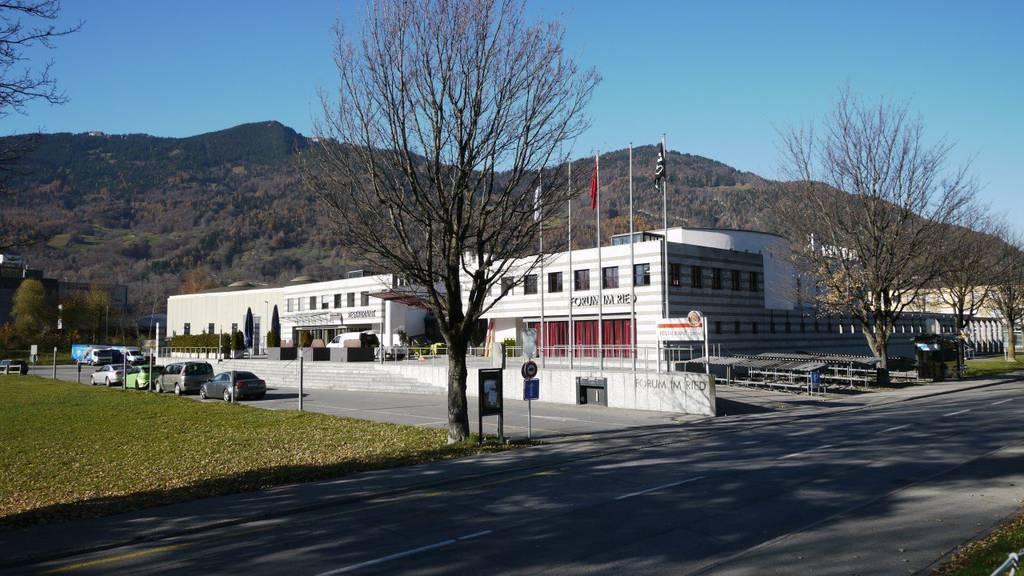 Das Projekt Riedpark sah eine Mantelnutzung beim Forum vor.