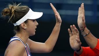 Belinda Bencic erreichte mit den Singapore Slammers den Final der International Premier Tennis League