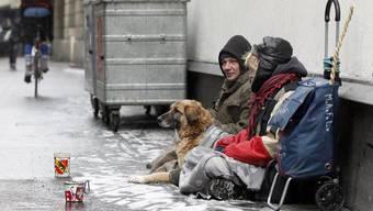SVP-Kantonsrat Roland Scheck befürchtet zu unrecht, dass Obdachlose mit ihren Hunden den Sozialstaat ausnutzen. (Symbolbild)