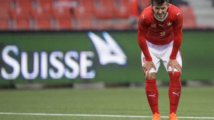 Mit der U21-Nati verlor Albian Ajeti 2:4 gegen Portugal – nachdem man 2:0 geführt hatte.