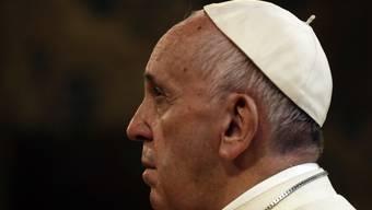 Papst Franziskus hörte mehr als eine Stunde lang die traurigen Erfahrungen der Prostituierten an.