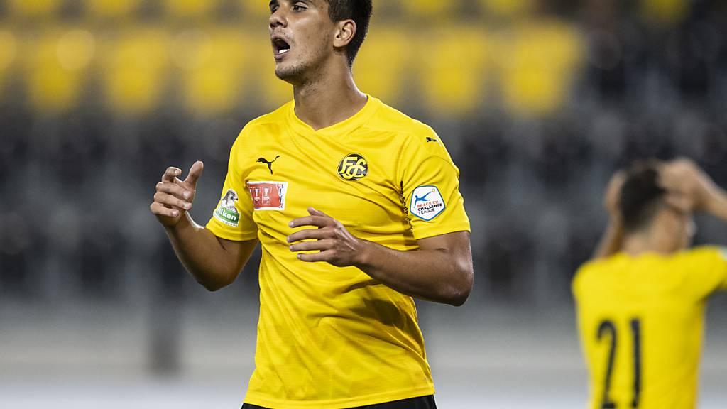 Rodrigo Pollero bewährte sich für Schaffhausen als Goalgetter