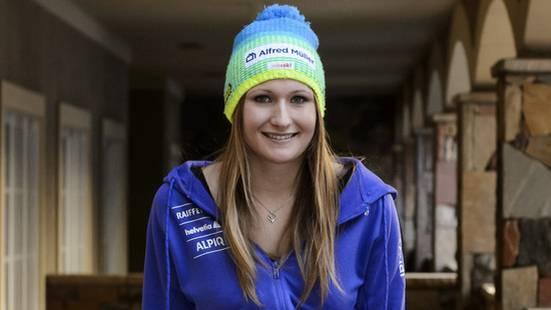 Die Schweizerin Priska Nufer träumt von einer Karriere als Allrounderin. Hoffentlich ist sie nicht zu spät geboren worden.
