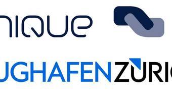 Wechsel: Das alte (oben) und das neue Logo des Flughafens Zürich. (zvg)