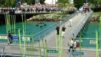 Drei-Seen-Expo von 2001: Mit einer Landesausstellung im Aargau könnte man an ihr «Ausfahrt Aargau»-Motto anknüpfen.