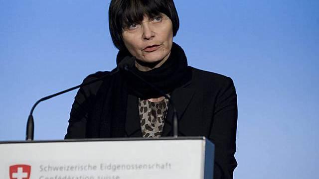 Bundesrätin Micheline Calmy-Rey