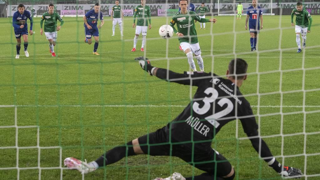 Schwacher Auftritt: FC Luzern verliert 1:4 gegen St. Gallen