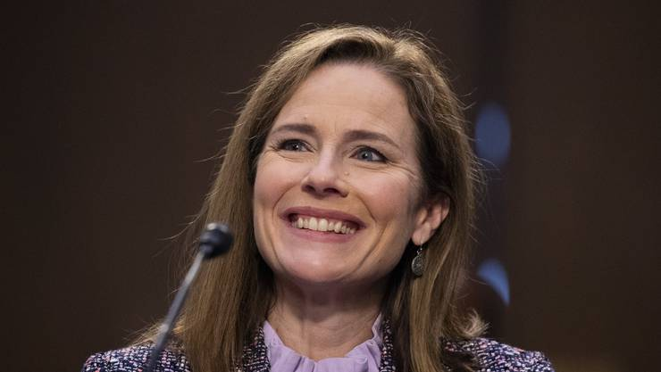 Amy Coney Barrett gehört nun dem obersten US-Gericht an.