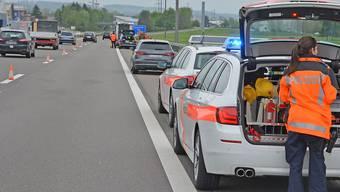Der Unfall geschah, als der 31-jährige Mann auf dem Pannenstreifen zurück in sein Auto steigen wollte.